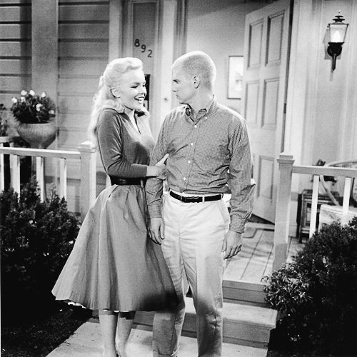 Tuesday Weld and Dwayne Hickman in The Many Loves of Dobie Gillis, 1960