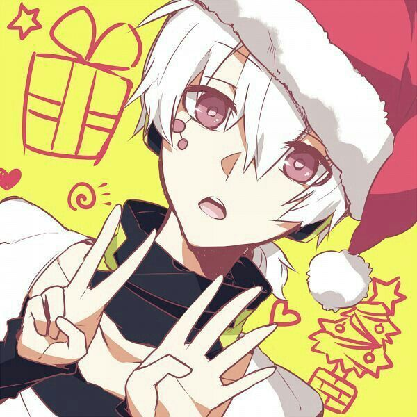 Image Result For Anime Boy With Santa Hat Anime Christmas Anime Anime Images