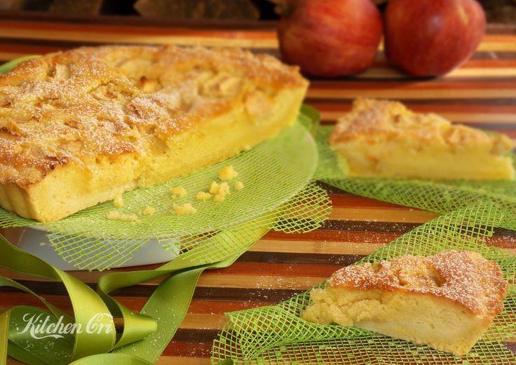 Torta frangipane, una torta che è un po' crostata, ed una crostata che è un po' torta, delicata e golosissima grazie alla crema frangipane e mele