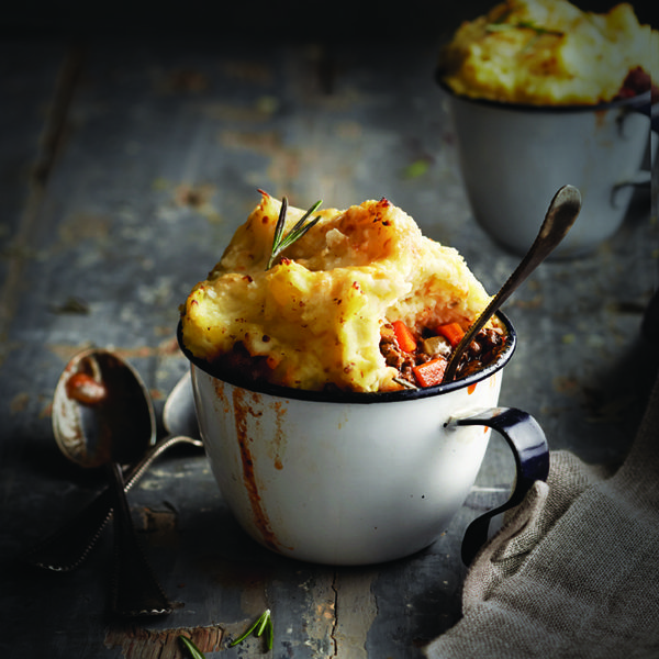 Food for the holiday: Individual Saucy Shiraz Shepherd's Pie