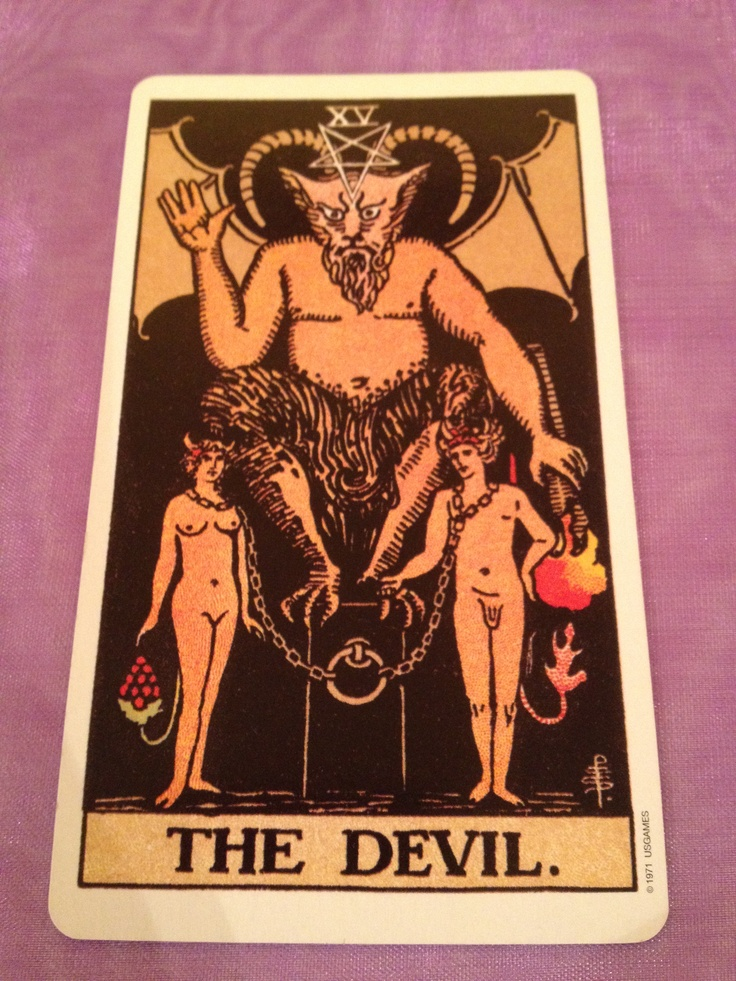 100 Best Images About The Devil (Tarot Card) On Pinterest
