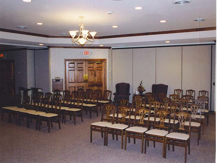 Superior Funeral Home Interior Design
