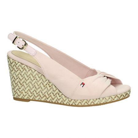 Roze Sandalen met Sleehak Tommy Hilfiger Emily