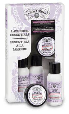 lavender essentials