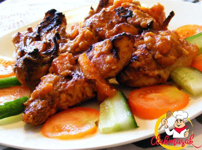 Resep Ayam Bakar Rica-Rica, Resep Nusantara, Club Masak