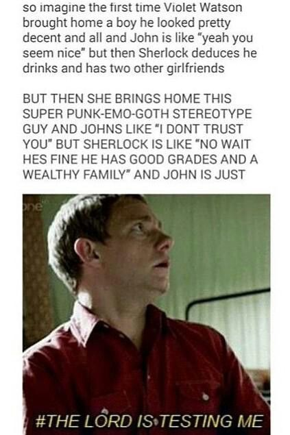 I ship Mary and John but this is still funny