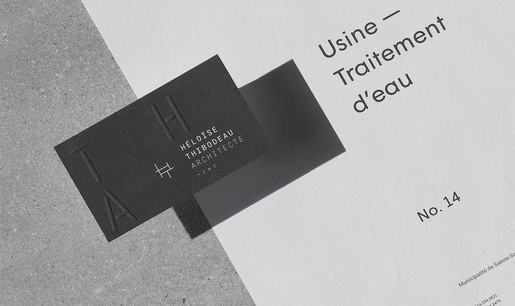 Héloïse Thibodeau Architecture Branding  http://mindsparklemag.com/design/heloise-thibodeau-architecte-branding/