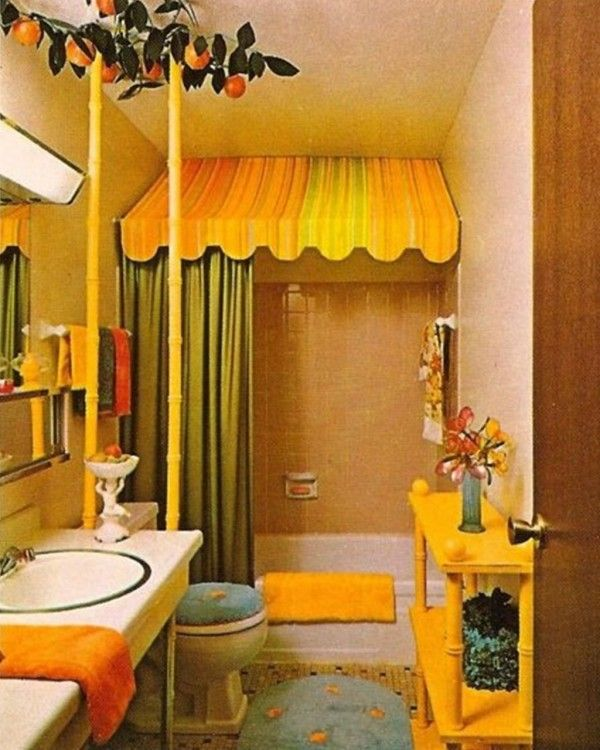 44 best kathys bathroom images on pinterest 1970s 1970s for Bathroom designs 2015