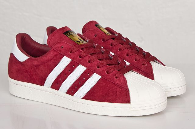 f249c29461eefd Adidas Superstar Suede Red herbusinessuk.co.uk