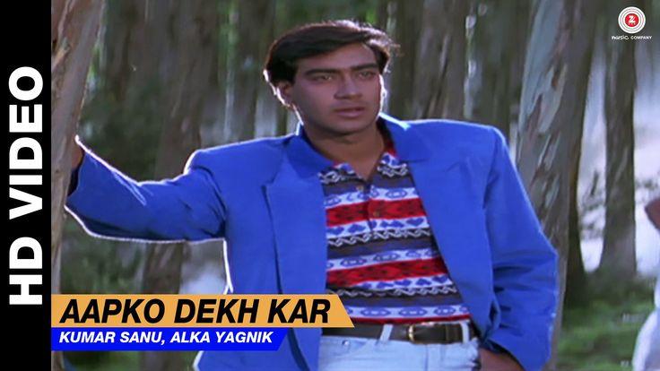 Aapko Dekh Kar - Divya Shakti | Kumar Sanu, Alka Yagnik | Ajay Devgan & ...