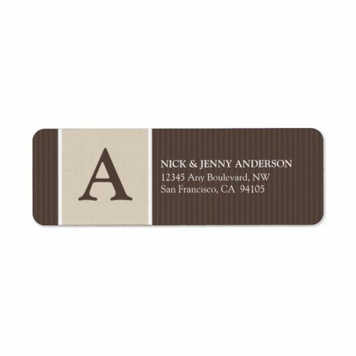 =>>Cheap          	Bold Stripe Return Address Label (chocolate/taupe)           	Bold Stripe Return Address Label (chocolate/taupe) We have the best promotion for you and if you are interested in the related item or need more information reviews from the x customer who are own of them before ple...Cleck Hot Deals >>> http://www.zazzle.com/bold_stripe_return_address_label_chocolate_taupe-106414656216649303?rf=238627982471231924&zbar=1&tc=terrest