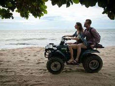 ATV Ride atau All Terrain Vehicle adalah kendaraan roda empat yang dapat digunakan di segala medan, seperti halnya motor trail.salah satu olahraga yang syarat dengan unsur petualangan