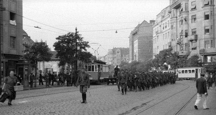 Ilyen is volt Budapest - 1939, Lehel utca