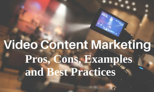 For traditional marketers who don't find videos as essential part of content marketing, read this article. The pros and cons are explained here, which you might want to analyze. Examples and best practices are also provided for you. #VideoContentMarketing #VideoBestPractices