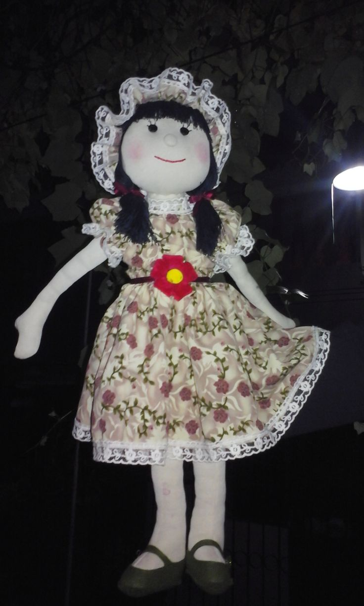 old t-shirt doll