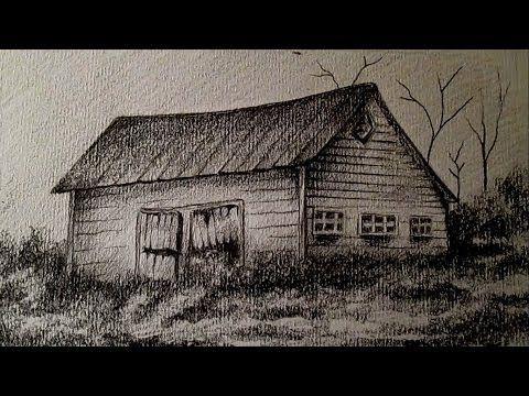 C mo dibujar un sencillo paisaje a l piz aprender a dibujar bocetos de paisajes a l piz - Como vallar un campo ...