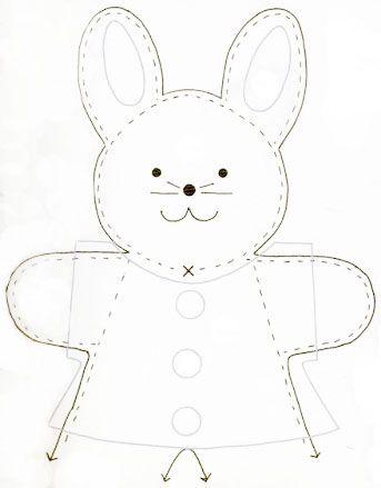 molde-coelhinho-feltro: Sewing Projects, Cloth, Living Art, Dolls, Sewing Ideas, Molde Coelhinho Feltro Jpg, Craft Ideas