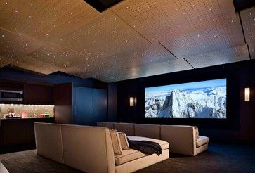 Love The Ceiling Of This Home Theater! Beautiful!