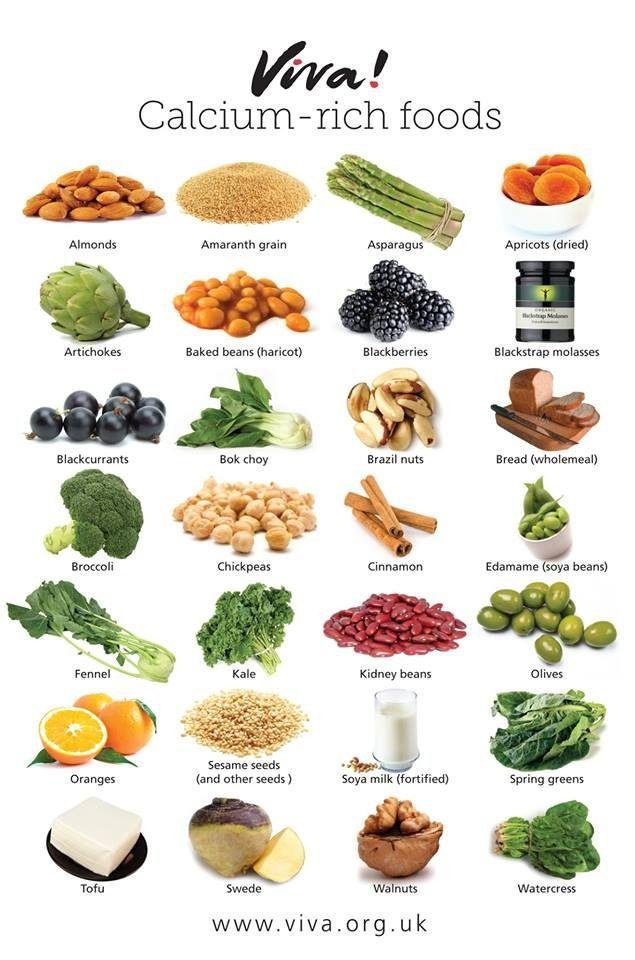 calcium-rich, dairy-free, cruelty-free #plantbased calcium
