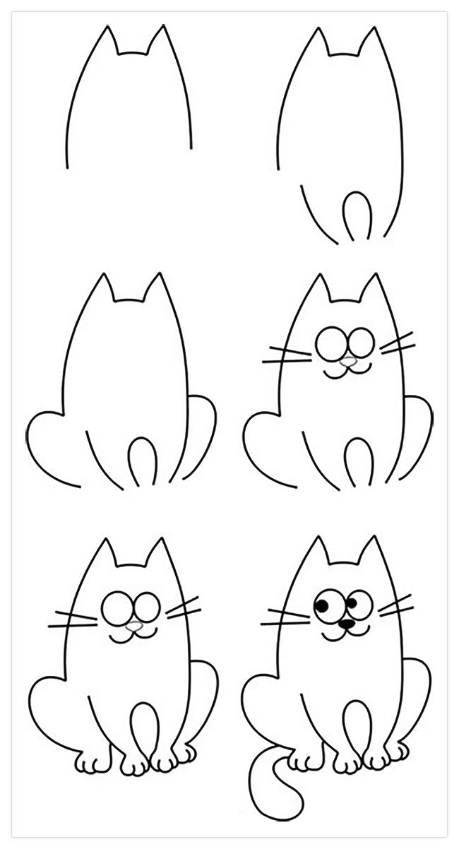 Красивые рисунки карандашом, которые легко нарисовать сдетьми
