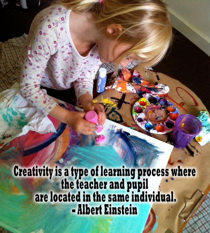 Creativity is a type of learning process where the teacher and the pupil are located in the same individual. - Albert Einstein