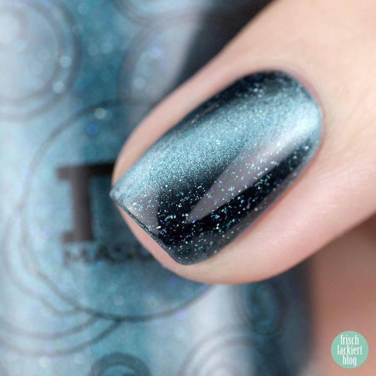 Masura Blue Stars – Magnetic Nailpolish – swatch by frischlackiert