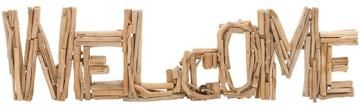Driftwood Welcome Sign - Word Wall Art - Wall Letters   HomeDecorators.com