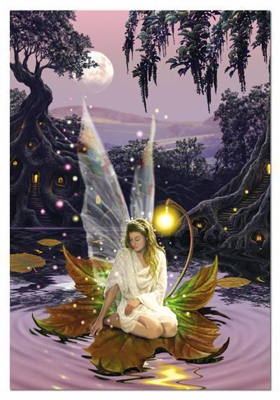 Star light fairy - frameable time limited collector art fantasy fairies gift