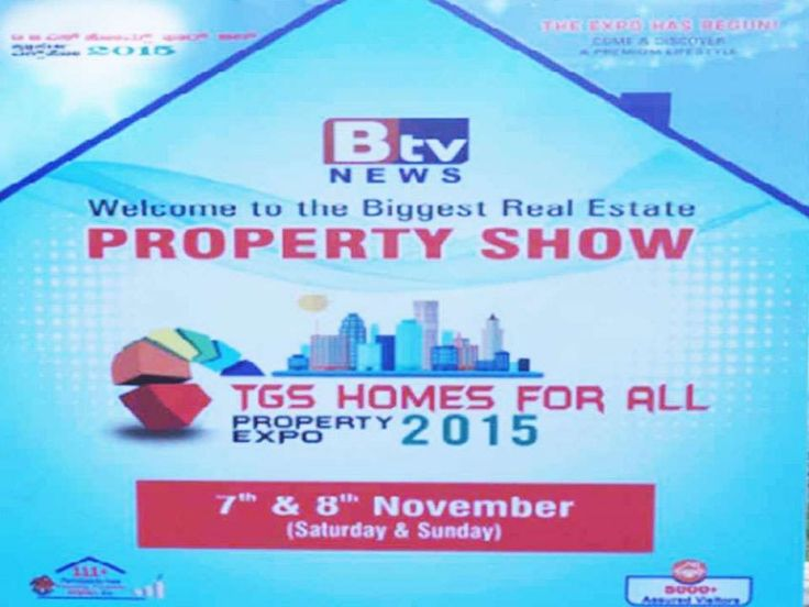 TGS Layouts in BTv property expo show at Bangalore.