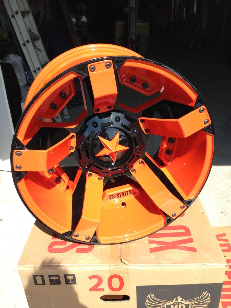 Alfa img - Showing > Orange Camo Rims