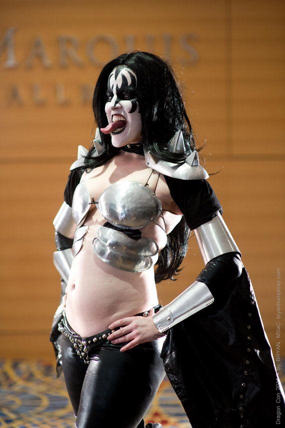 Female KISS/Gene Simmons impersonator costume by brooksbot75, $360.00
