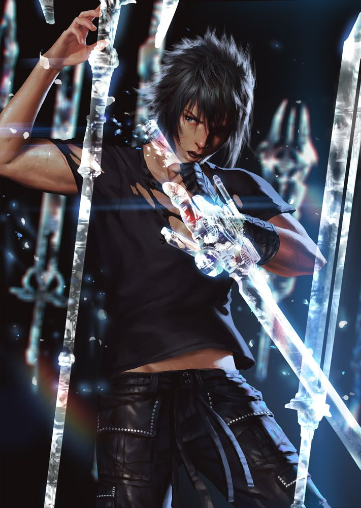 Final Fantasy XV - Noctis Lucis Caelum by Penguinfrontier(Fitness Clothes Tumblr)