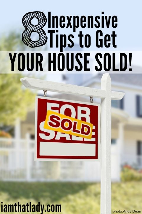 8 ways to get your house ready to sell without going broke.