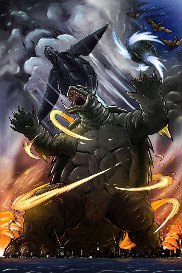 17 Best images about Gamera and Japanese monsters on ...