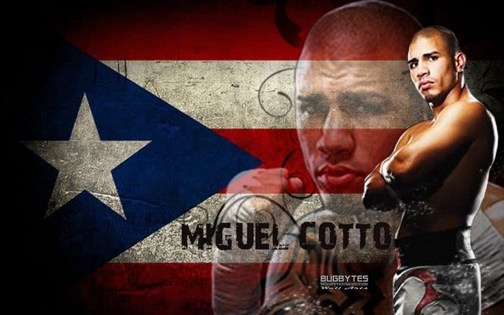 puerto rico boxing miguel cotto champion borinquen oh mine pinterest puerto rico. Black Bedroom Furniture Sets. Home Design Ideas