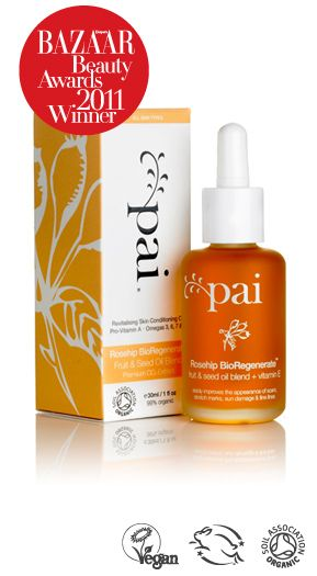 Pai Rosehip BioRegenerate Oil. I love my Kora Organics Rosehip Oil, but this is a much more cost friendly option.