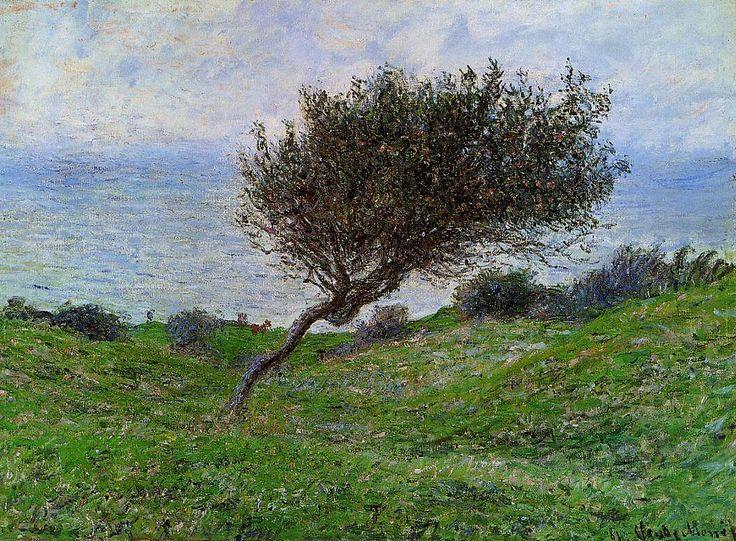 Sur la côte à Trouville (C Monet - W 687),1881.