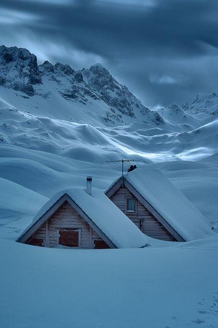 Refuge des lacs Merlets - Massif de la Vanoise by Patrice MESTARI)