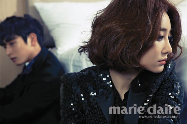 Between Wor(L)ds: We Got Married Couples for InStyle Weddings + Jinwoon and Go Joon Hee for Marie Claire