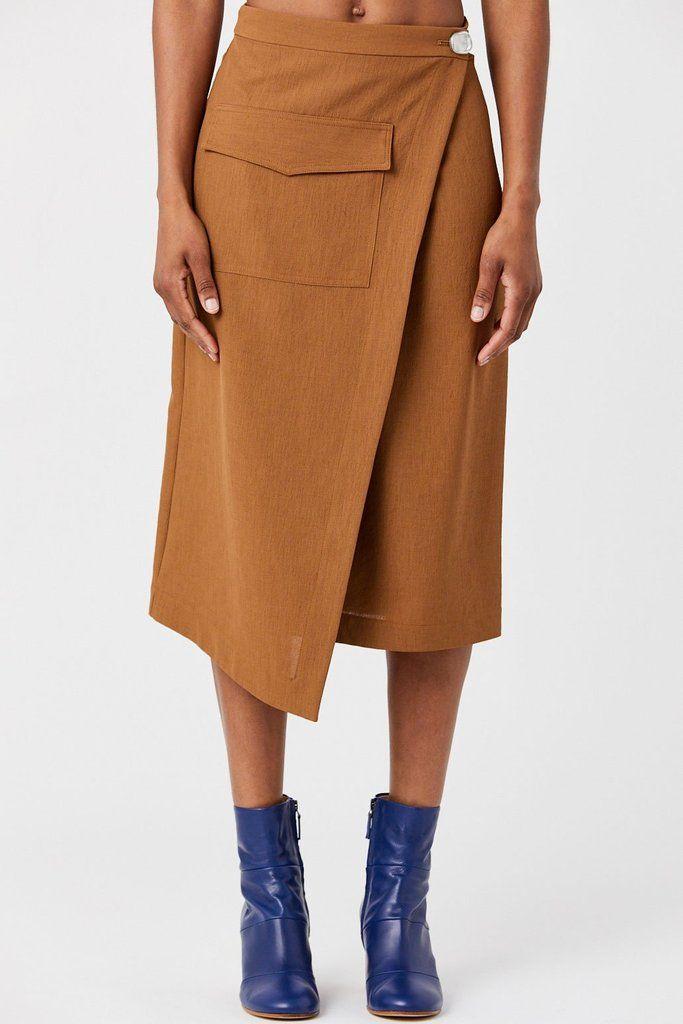 4929c474508 Nomia - Pocket Wrap Skirt