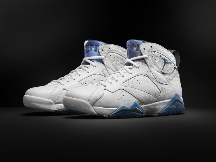 Air Jordan VII French Blue Retro 2015 - Preview #airjordan #sneakers  #airjordan7 #