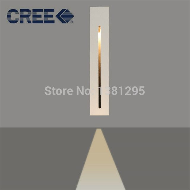 Recessed Led Stair Light Rectangle