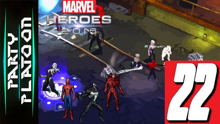 Party Platoon   Marvel Heroes 2016 (#22 Venom Gameplay) This Place Is De...
