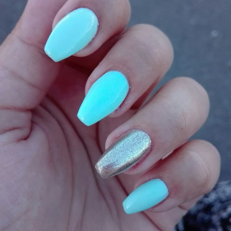 #nail #coffinnail #ballerinanail #chromenail #bluenail