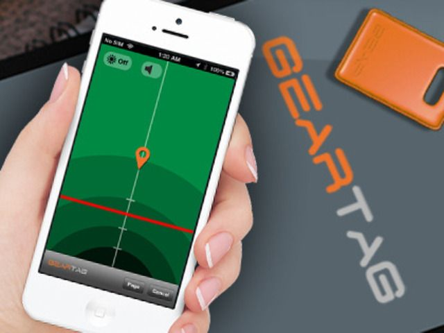 Gear Tag.  A wireless tag to keep track of your important gear using your smartphone
