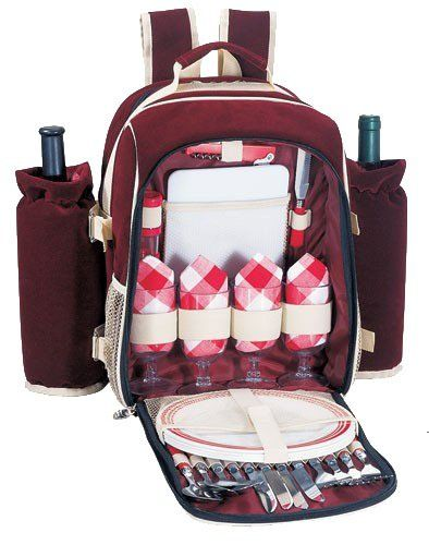 Special Offers - Sutherland Vanderbilt Picnic Backpack for 4 - In stock & Free Shipping. You can save more money! Check It (April 30 2016 at 05:04AM) >> http://campingtentsusa.net/sutherland-vanderbilt-picnic-backpack-for-4/