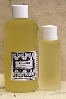Ricinusolie BIO - 200 ml natuurlijke & biologische producten