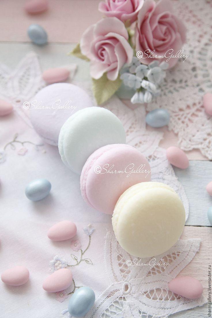 pastels.quenalbertini: Macarons Handmade Soap, SharmGallery | livemaster. ru