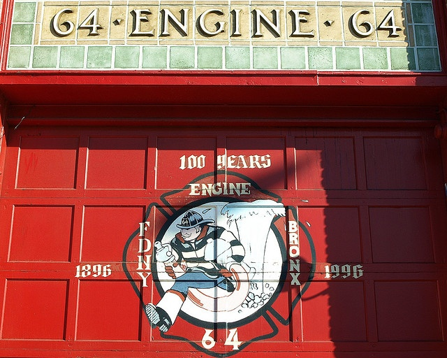 FDNY Firehouse Engine 64, Castle Hill, Bronx, New York City  http://www.flickr.com/photos/jag9889/3083371564/in/photostream/# shared by  by NYC Firestore