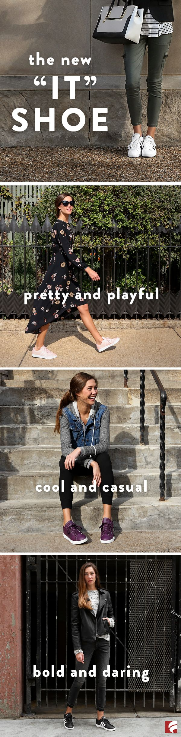 Daring. Cool. Playful. Confident. There's an adidas Baseline for every mood...what will it be today?